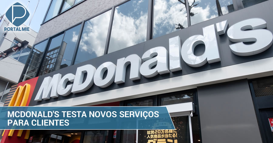 &nbspMcDonald's Japan testa novos serviços para clientes