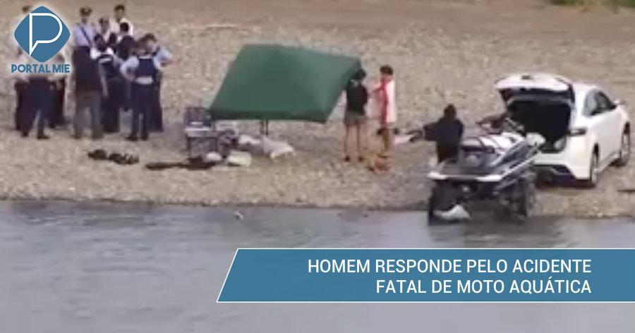 &nbspHomem é enviado para a promotoria pelo acidente de moto aquática que matou filipina