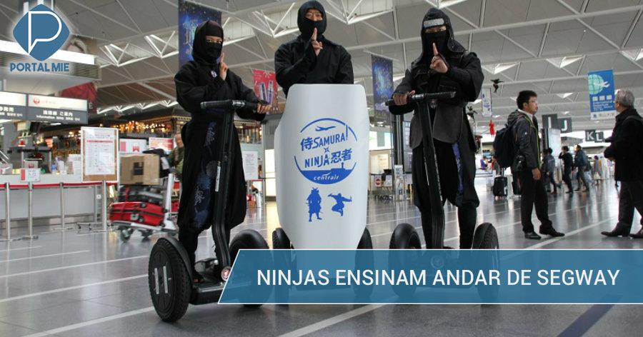 &nbspGuias ninja são atração no Centrair