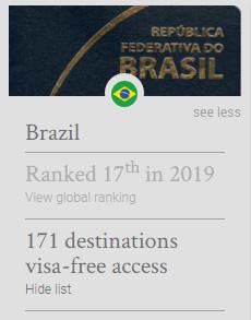 &nbspJapão continua sendo o país com o passaporte mais poderoso do mundo