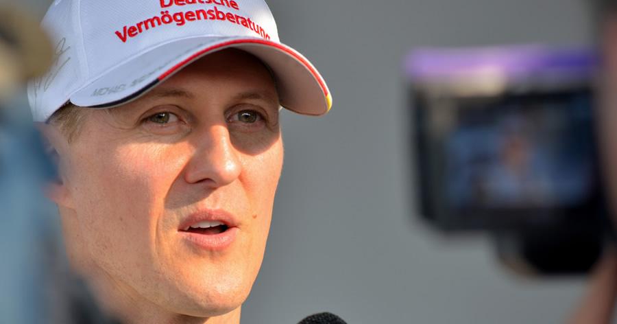 &nbspMichael Schumacher completa 50 anos