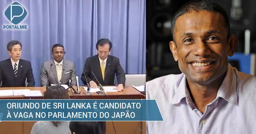 &nbspOriundo de Sri Lanka é candidato à vaga no parlamento