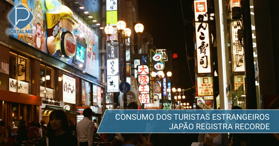 &nbspQuanto gastaram os turistas no Japão e quanto deixaram em 2018