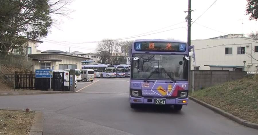 &nbspÔnibus de condução automática em teste, em Tóquio