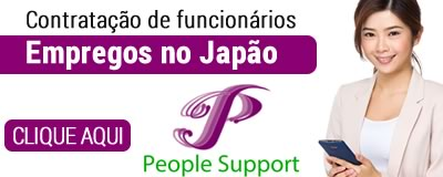 Empregos no Japão - People Support!!