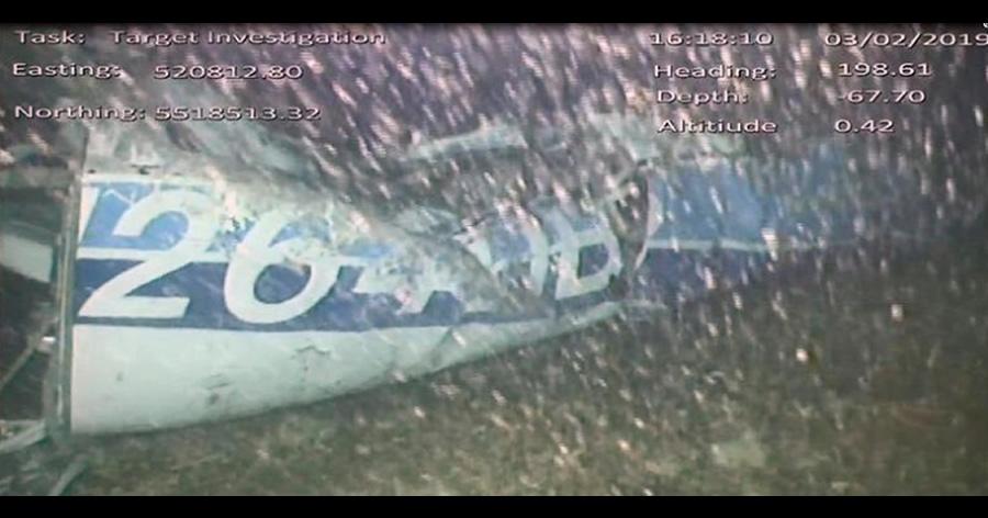 &nbspAvião que transportava jogador argentino é encontrado no fundo do mar