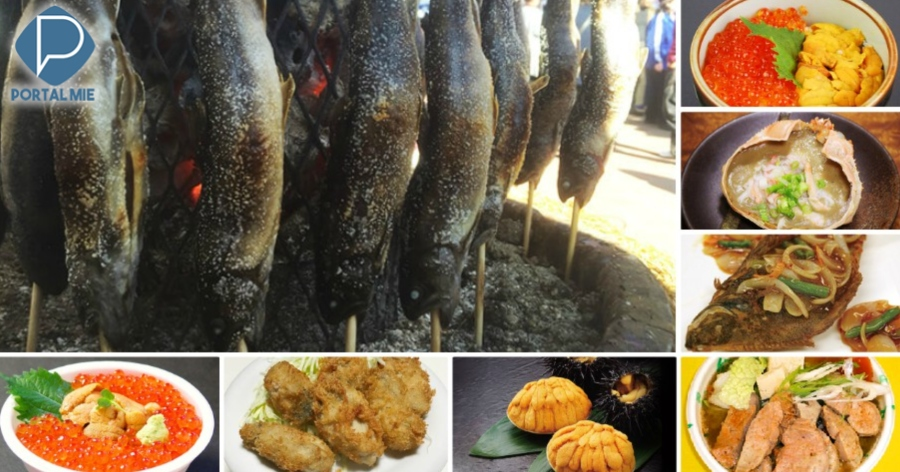 &nbspFestival gastronômico dos pescados em Tóquio