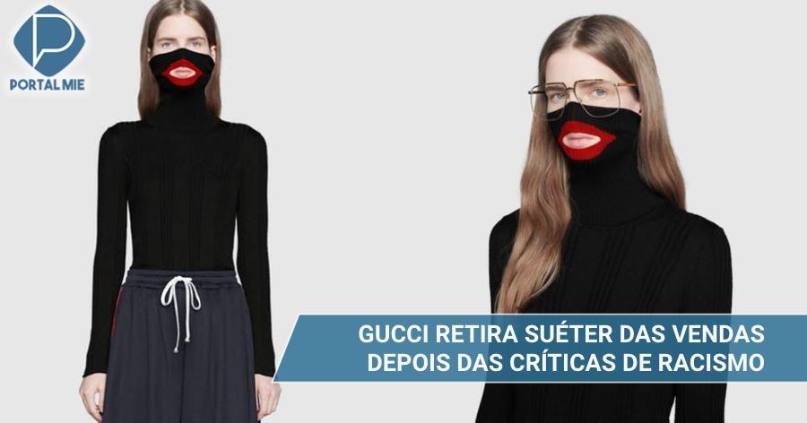 &nbspGucci acusada de discriminação racial retira suéter da linha