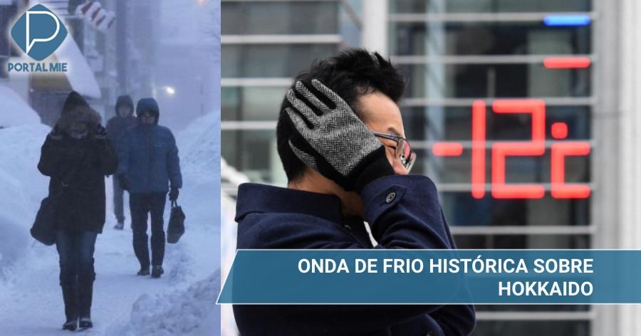 &nbspPior onda de frio de todos os tempos castiga Hokkaido