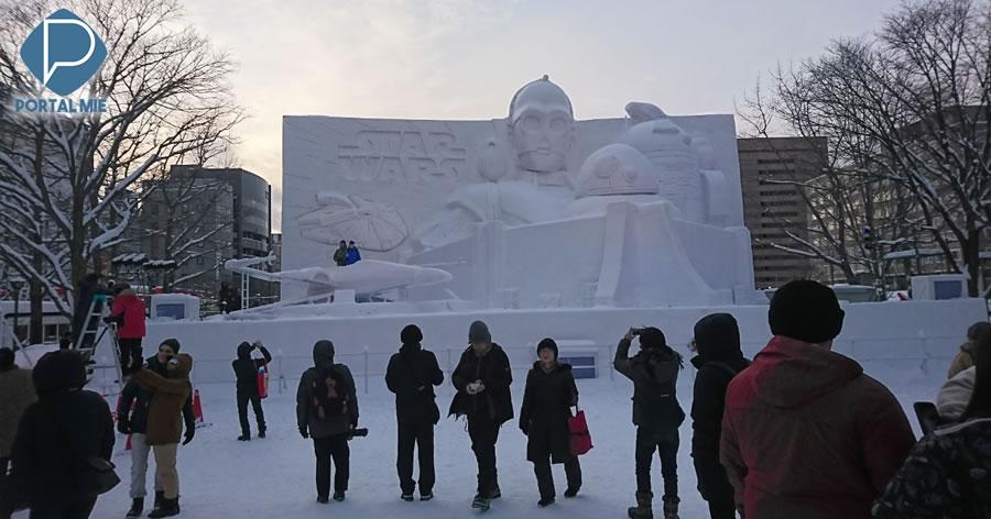 &nbspFestival da neve de Sapporo atraiu número recorde de visitantes