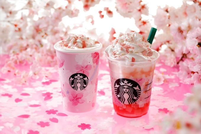 &nbspNovas bebidas da Starbucks