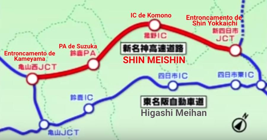 &nbspParada imperdível de Suzuka no novo trecho da Shin Meishin