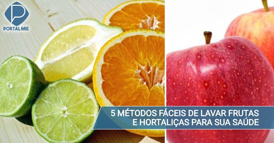 Como consumir frutas com casca e hortaliças de forma segura - Portal Mie